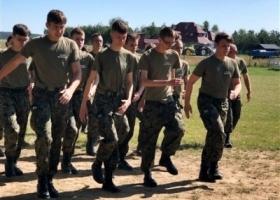 Zajęcia wojskowe w Sulechowie