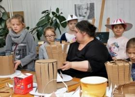 Kolejny dzień ferii zimowych w Domu Kultury w Sławie.