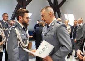 Młodszy inspektor Marek Halota Komendantem Powiatowym Policji we Wschowie